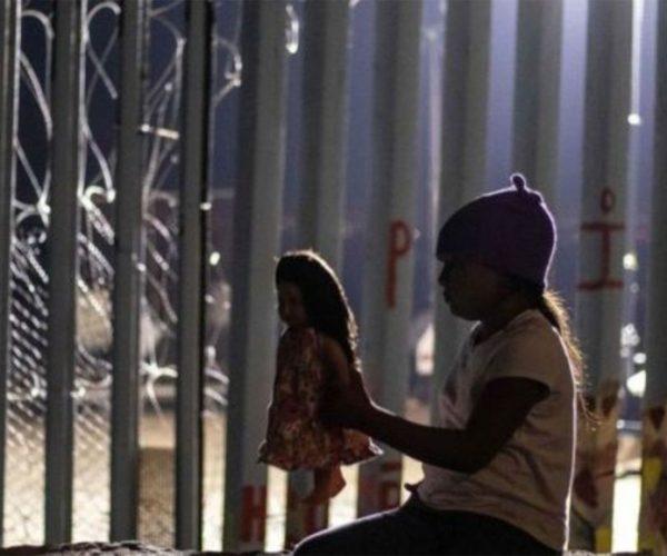 Niña - Caravana migrante - Fuente foto web - Data Urgente