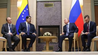Nicolás Madura - Vladimir Putin - Fuente foto web - Data Urgente