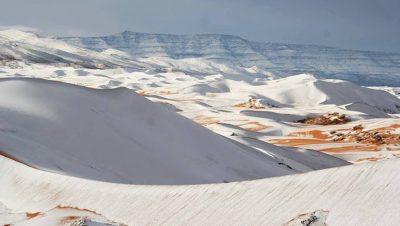 Argelia - Desierto nevado - Fuente foto ECS - Data Urgente