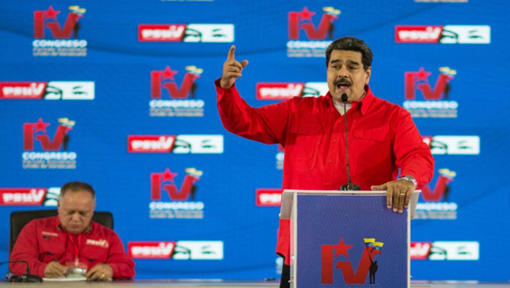 Asunción de Nicolás Maduro 2019 - Fuente foto Questión digital - Data Urgente