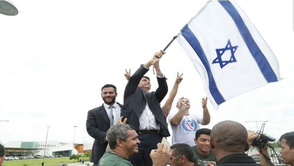 Bolsonaro e Israel - Fuente foto Twitter - Data Urgente