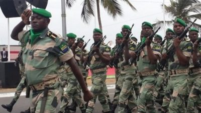 Ejército Gabonés - Fuente foto web - Data Urgente