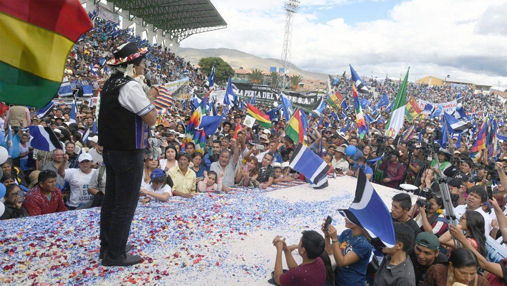 Evo Morales - Fuente foto web - Data Urgente