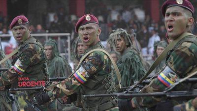 Fuerzas especiales de Venezuela - Fuente foto EFE - Data Urgente