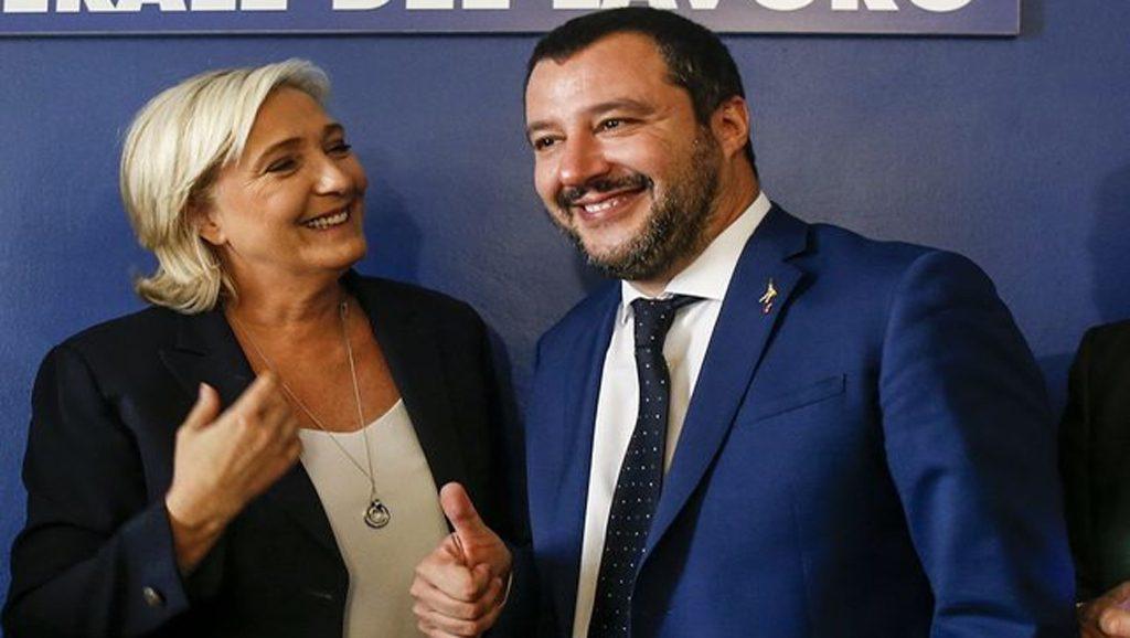 Le Pen - Salvini - Fuente foto web - Data Urgente