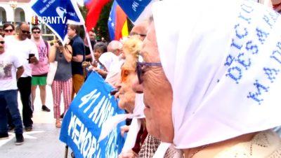 Madres de Plaza de Mayo - Fuente foto Hispan TV - Data Urgente