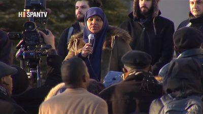 Marzie Hashemi - Fuente foto Hispan TV - Data Urgente