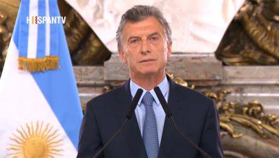 Mauricio Macri - Fuente foto Hispan TV - Sebastián Salgado - Data Urgente