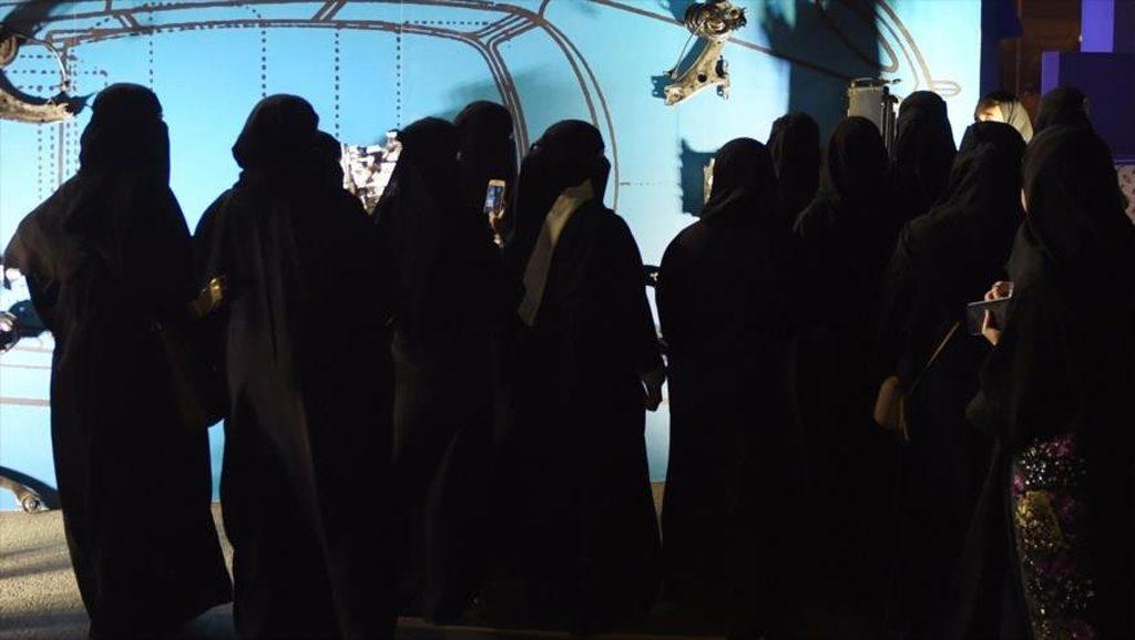 Mujeres Saudíes - Fuente Al Mayadeen - Data Urgente
