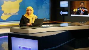 Periodista Marzieh Hashemi - Televisión iraní - Fuente foto Press TV - Data Urgente