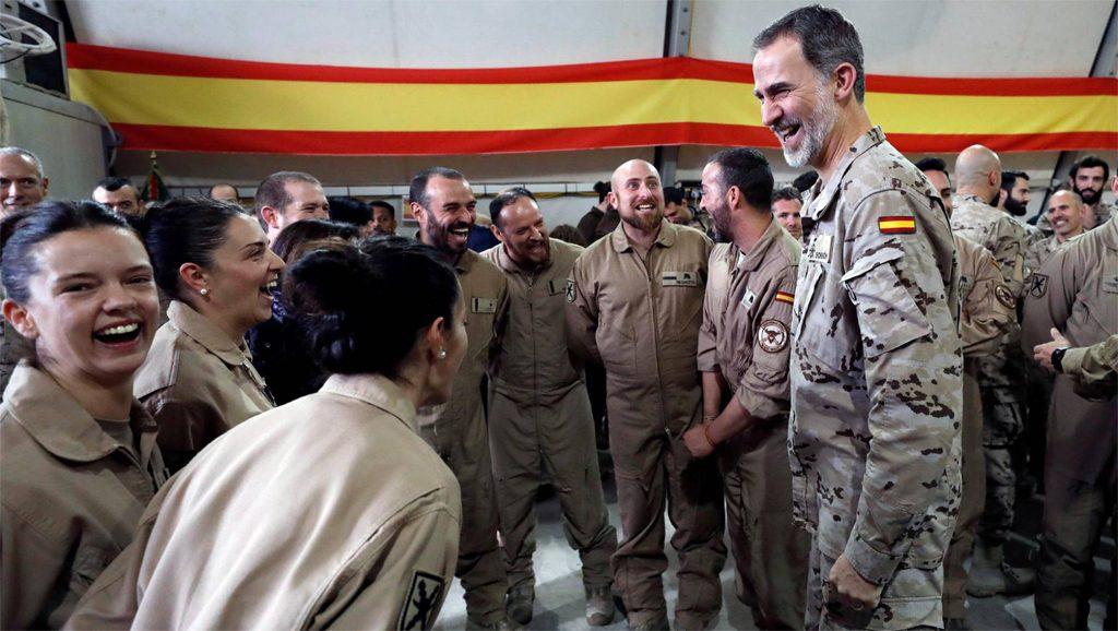 Rey Felipe VI en Irak - Fuente foto web - Data Urgente