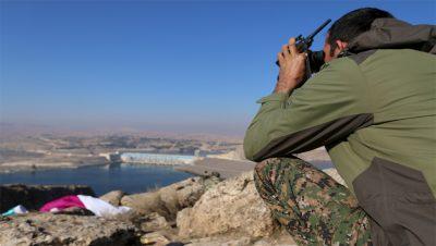 Rrepresa de Tishrin - Siria - Fuente foto web - Data Urgente