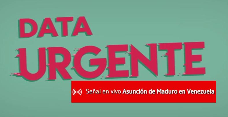 Data Urgente - Asunción de Maduro