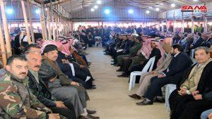 Siria - Tribus - Fuente foto SANA - Data Urgente