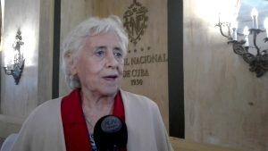 Stella Calloni - Foro de Periodismo - Prensa Latina - Fuente foto web - Data Urgente