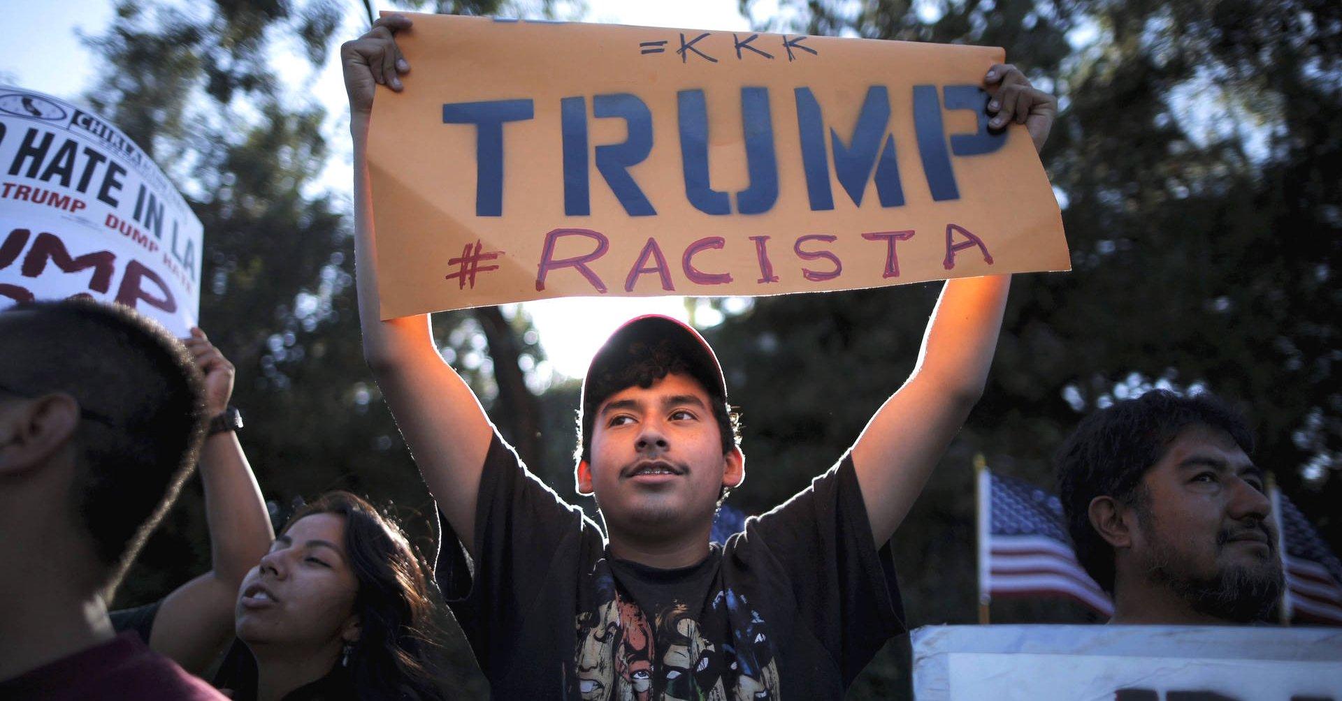 Trump Racista - Fuente foto web - Valeria Agustina Rodriguez - Data Urgente