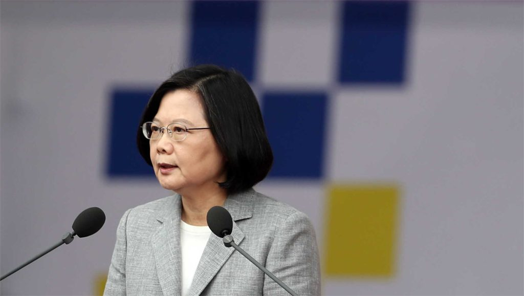 Tsai Ing-wen - Presidenta de Taiwán - Fuente foto web - Data Urgente