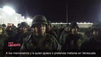Vladimir Padrino - Ministro de Defensa de Venezuela - Fuente FB - Data Urgente