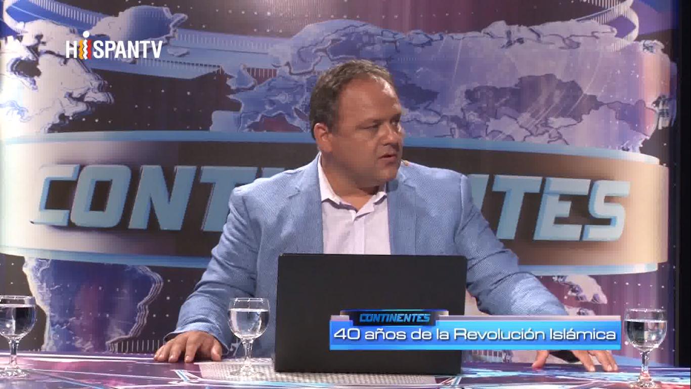 40 años de la Revolución Islámica de Irán - Sebastián Salgado - Hispan TV - Data Urgente