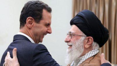 Bashar Al Assad y Seyed Ali Jamenei - Fuente foto web - Data Urgente