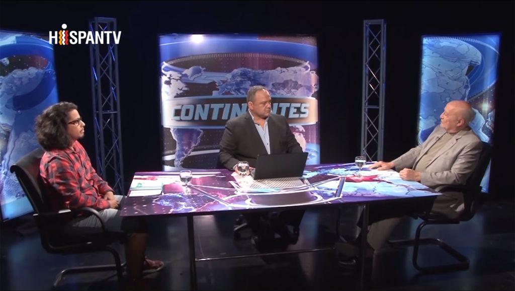 Continentes - Luis Bilbao - Raúl Palencia - Nayib Bukele - Fuente foto Hispan TV - Data Urgente