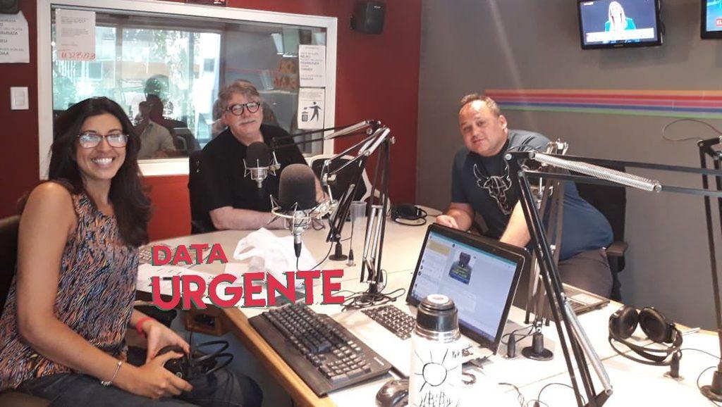 Data Urgente desde fuera - Invitado Fernando Buen Abad - Lourdes Zuazo y Sebastián Salgado - Data Urgente