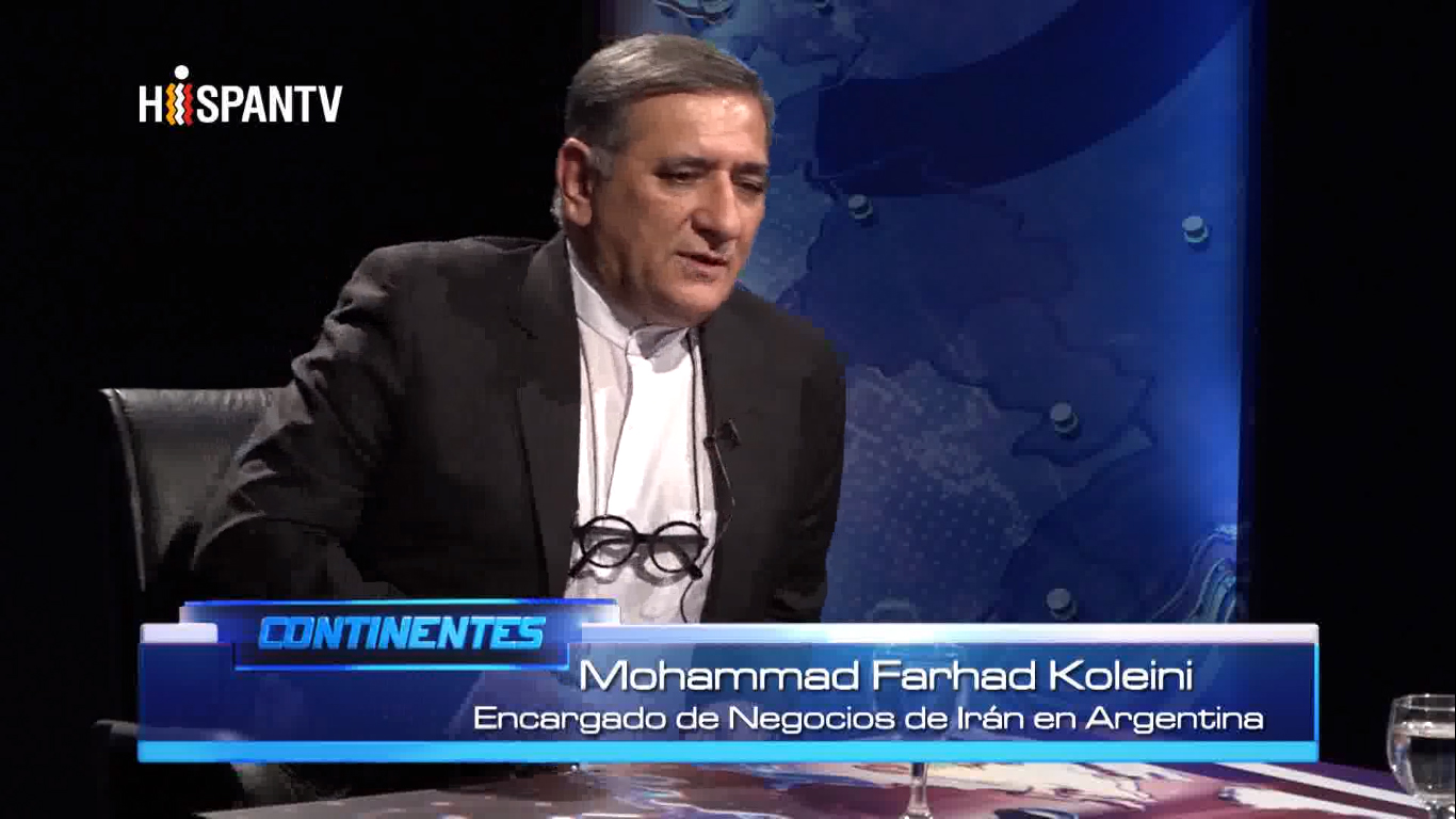 Embajador de Irán en Argentina Mohamad Farhad Koleini - Fuente Hispan TV - Data Urgente