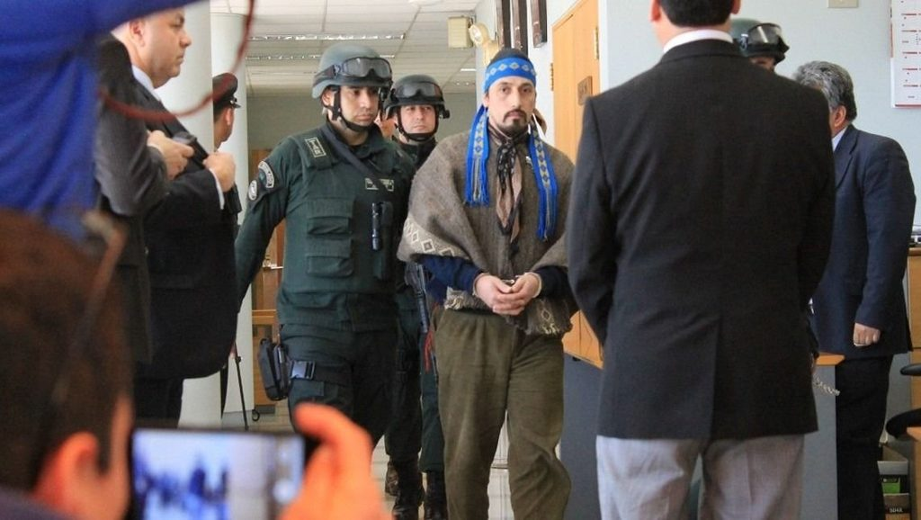 Facundo Jones Huala - Mapuches - Fuente foto web - Data Urgente