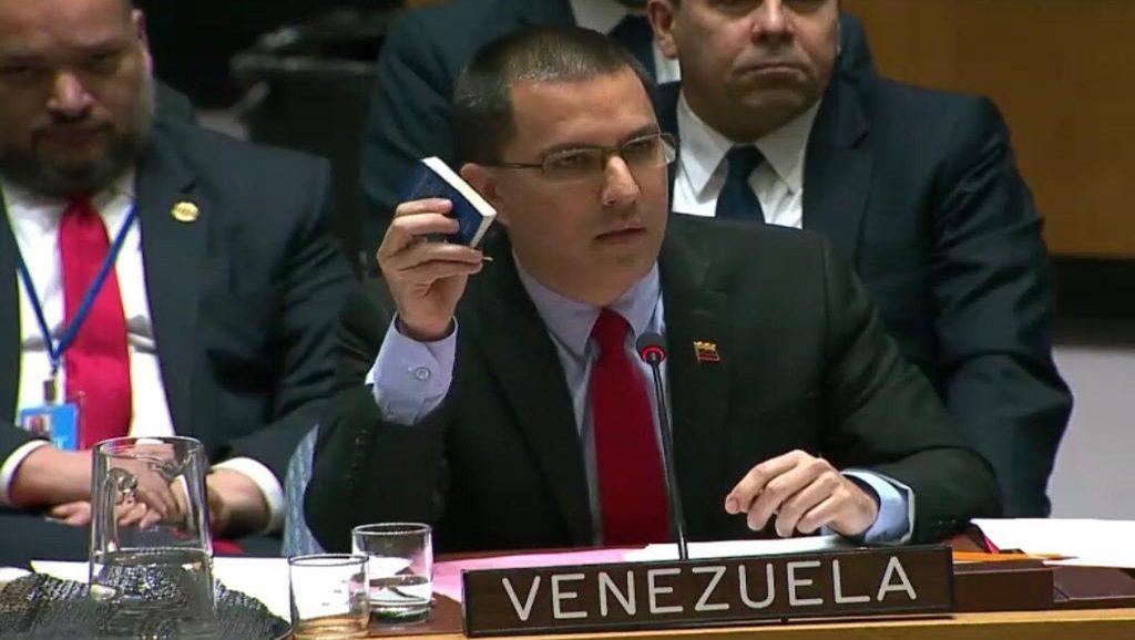Jorge Arreaza - Canciller de Venezuela - Fuente foto web - Data Urgente