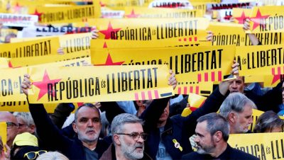 Juicio a catalanes independentistas - España - Fuente foto El Confidencial - Data Urgente