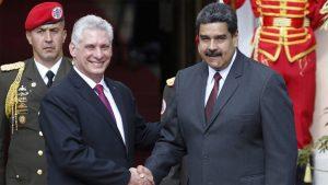 Miguel Díaz-Canel y Nicolás Maduro - Fuente foto web - Data Urgente