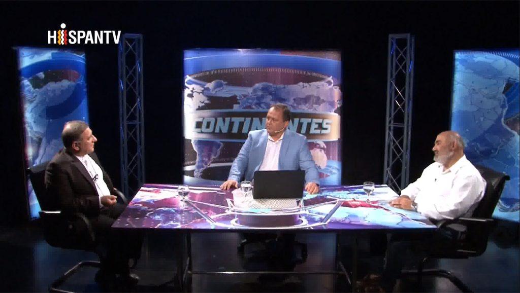Programa Continentes - Conducción Sebastián Salgado - Hispan TV - Data Urgente