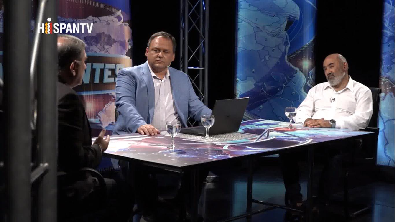 Programa Continentes - Mohamad Farhad Koleini y Galeb Moussa - Fuente Hispan TV - Data Urgente