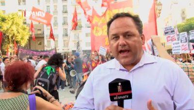 Sebastián Salgado - Corresponsal Hispan TV en Buenos Aires - Fuente foto Hispan TV - Data Urgente