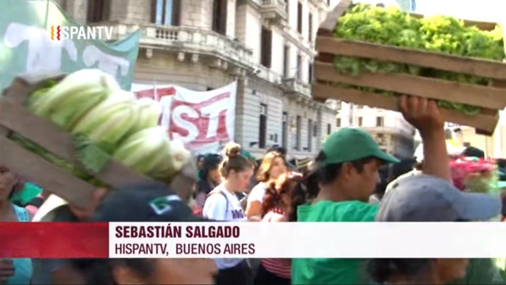 Verdurazo - Sebastián Salgado - Fuente foto Hispan TV - Data Urgente