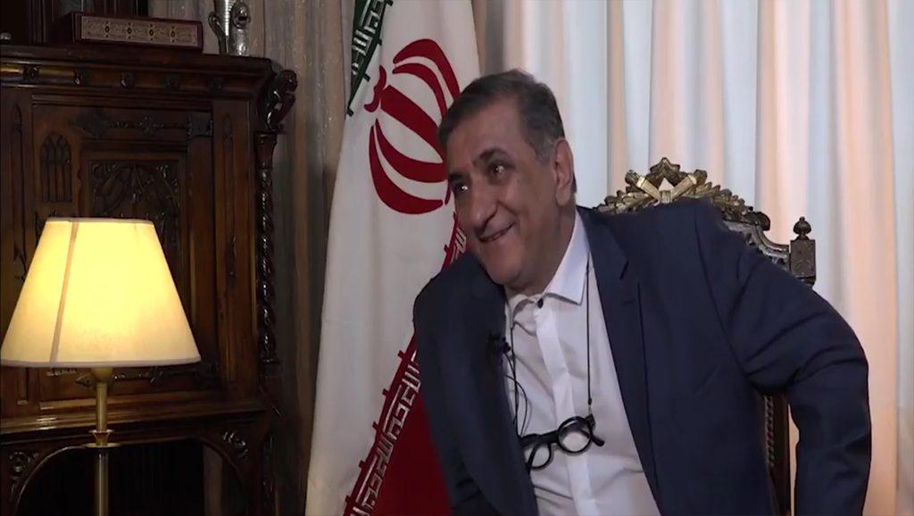 koleini - Embajador de Irán en Argentina - Sebastián Salgado - Data Urgente copia