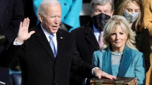 Joe Biden juramenta como 46.º presidente de EE.UU., Washington, 20 de enero de 2021. (Foto: EFE)