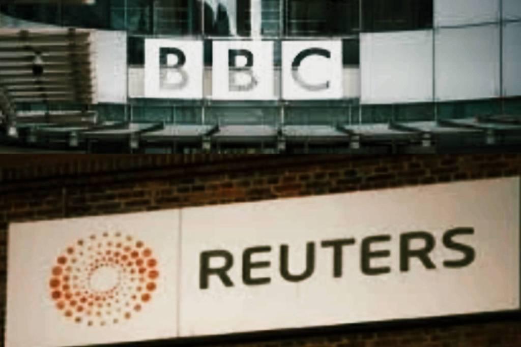 Edificios BBC y Reuters